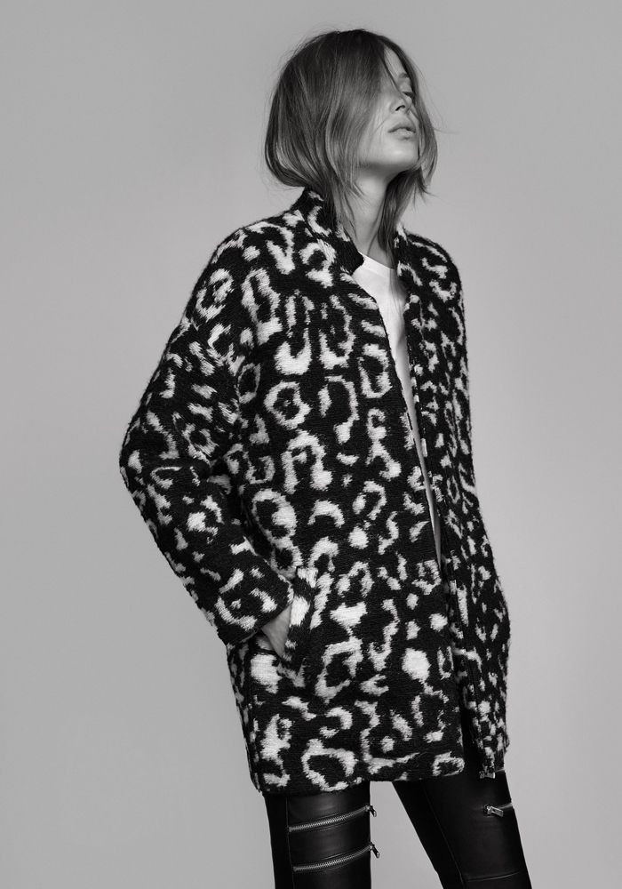 Monday's must-have: overcoat with animal print