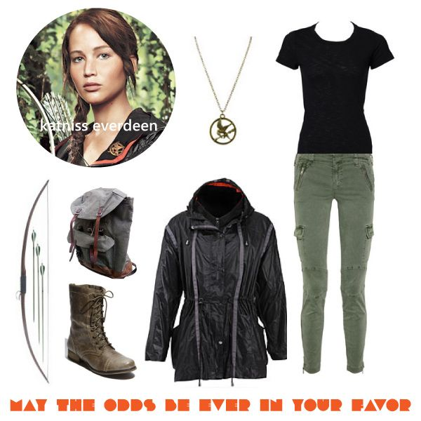 perfect katniss outfit - Primrose Everdeen Halloween Costume