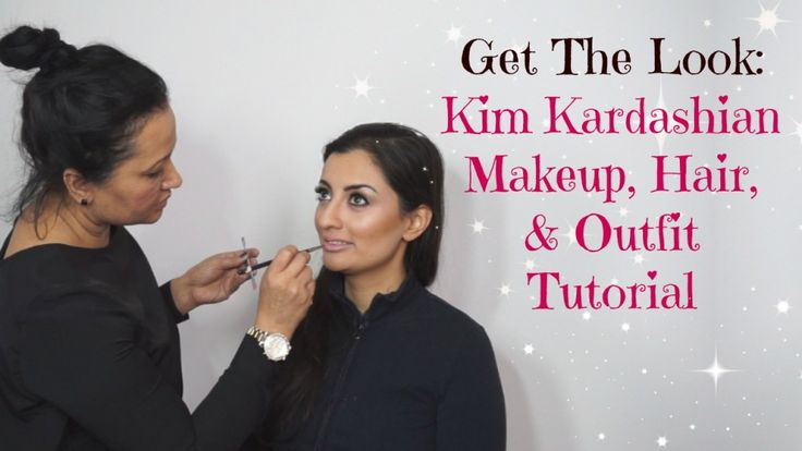 GET THE LOOK tutorial, my glam team and I show you how you can re-create KIM KARDASHIAN'S everyday look. That's right, we show you how to achieve her makeup, hair, & outfit!!