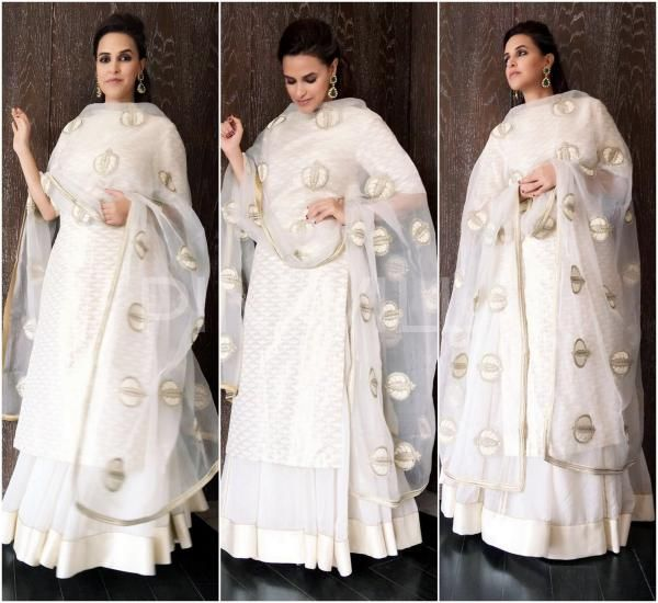 Yay or Nay : Neha Dhupia in Sanjay Garg and Rohit Gandhi + Rahul Khanna | PINKVILLA