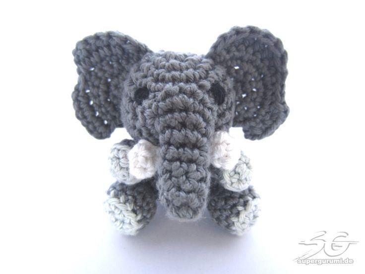 Amigurumi Elefant Anleitung                                                                                                                                                      Mehr