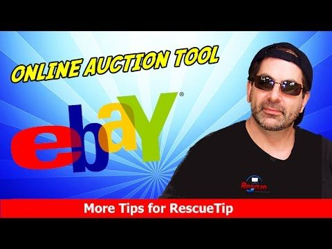 DON'T BID until you see this ebay Online Auction Tool - NOT a Sniping tool - Free - YouTube