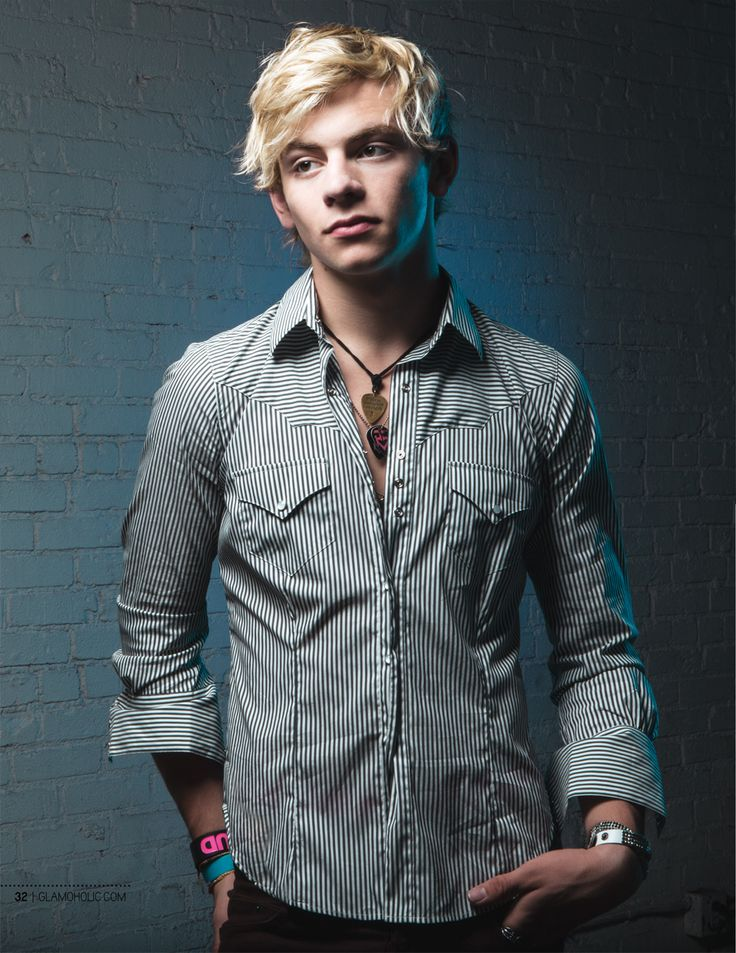 Ross Lynch Glamoholic Cover Boy
