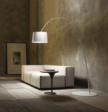 Luxury Life【Foscarini Twiggy Terra 嫩苗 弧線立燈,Marc Sadler 設計】