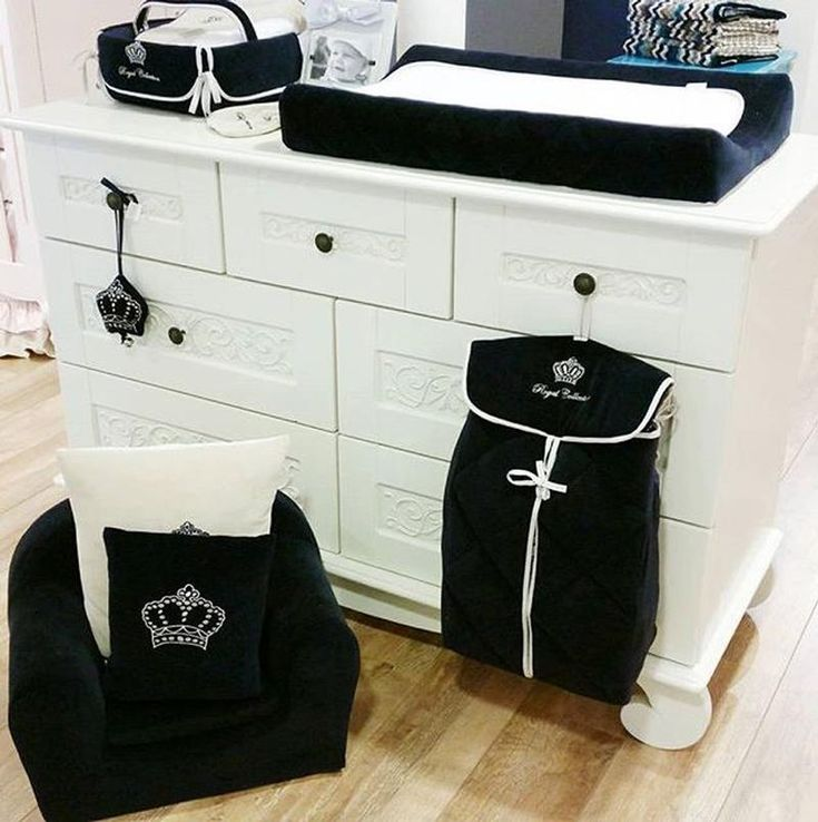 Black And White Opulence Is The Design Feel Featuring Bratt Decoru0027s  Distressed White Chelsea Dresser.