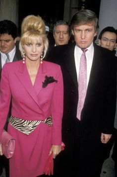 Ivana Trump and Donald Trump divorced in 1992.