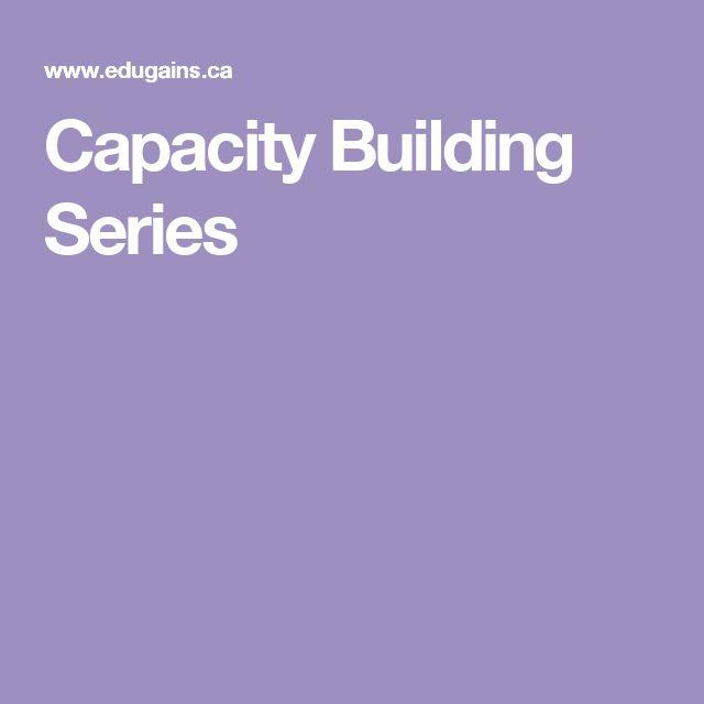 Capacity Building Series