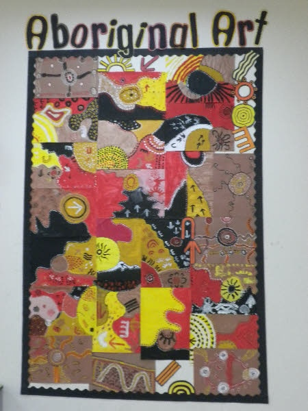 Aboriginal Art classroom display photo - Photo gallery - SparkleBox