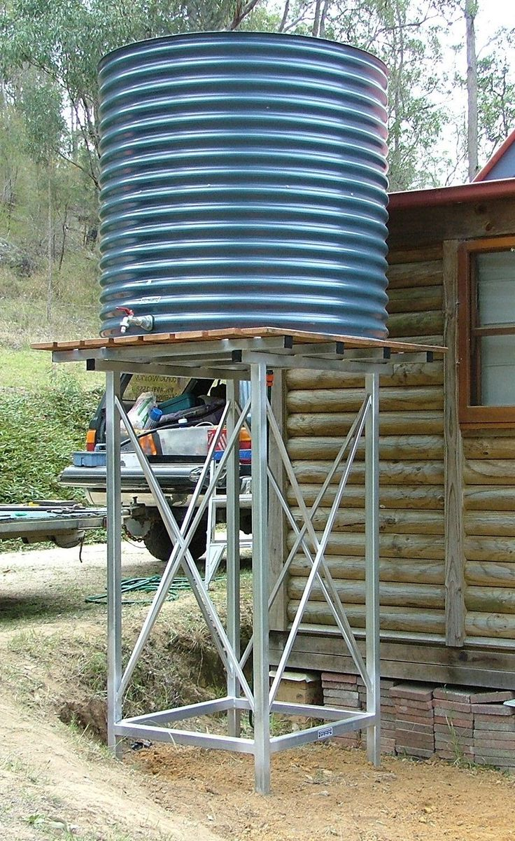 25 best ideas about water tank on pinterest raised for Cistern plans
