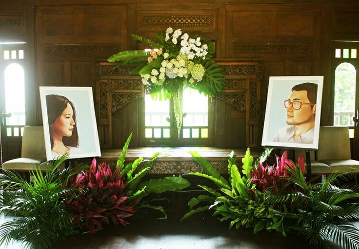 Rangkaian dekorasi pernikahan Putri&Yudha