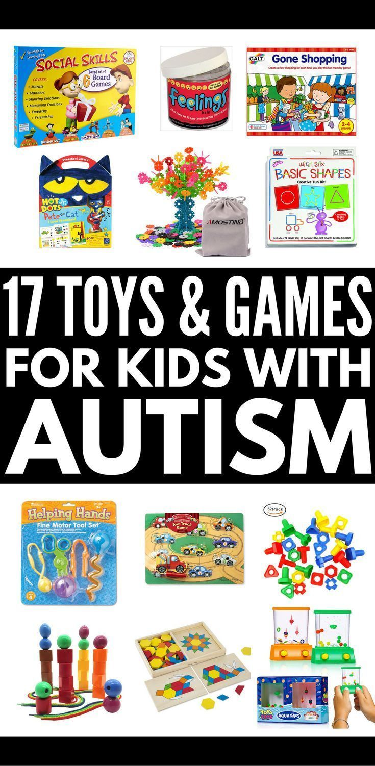 17 Developmental Toys for Autistic Children | The ultimate gift guide for kids with autism! If you have a child or student with special needs who struggles with gross or fine motor skills, hand eye coordination, social skills, language development, and/or sensory processing disorder, these fun learning activities, games, and toys are worth the investment! #autism #SPD #sensoryprocessingdisorder #autismtoys #autismgifts
