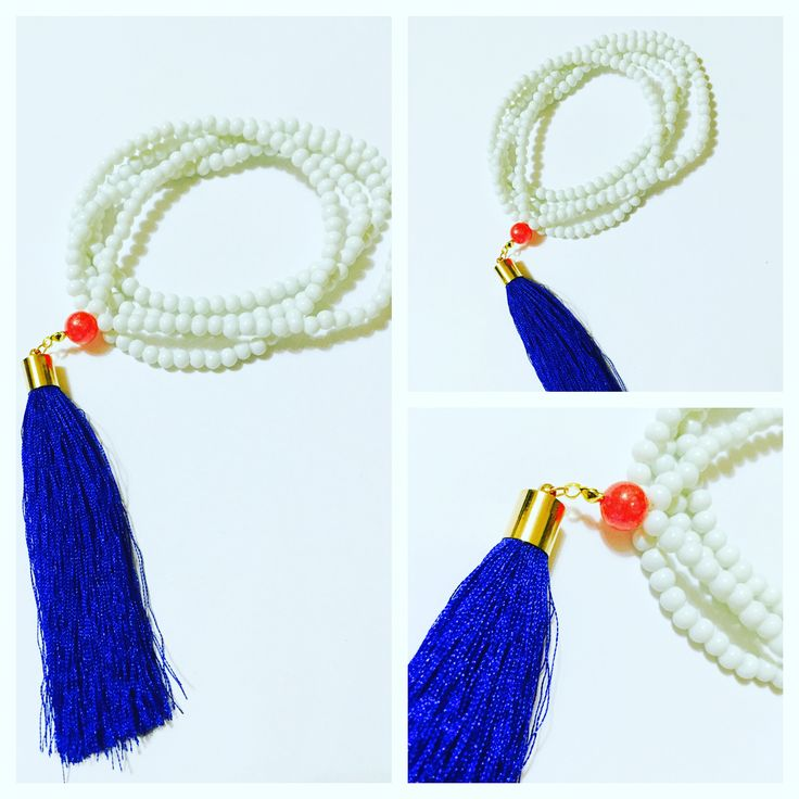 Snowflakes in the sand #royal #blue #Joyelissimo #CraftedWithColor #Jewelrydesign #silktassels #silver #Handmadejewelry #Jewelrytrend #Ilovejewelry #Uniquejewelry #Artjewelry