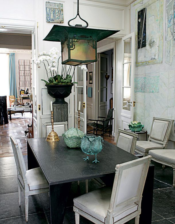 Квартира в Париже, дизайнер Жак Гранж