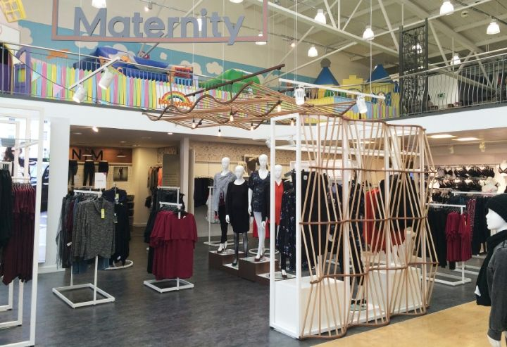 Mothercare maternity zone by Global Display, UK » Retail Design Blog