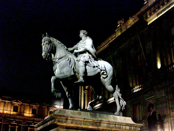 """""""El Caballito"""", a bronze statue of Charles IV placed in Plaza Tolsa, in the heart of Mexico City. This is one of the top five equestrian statues in the world!"""