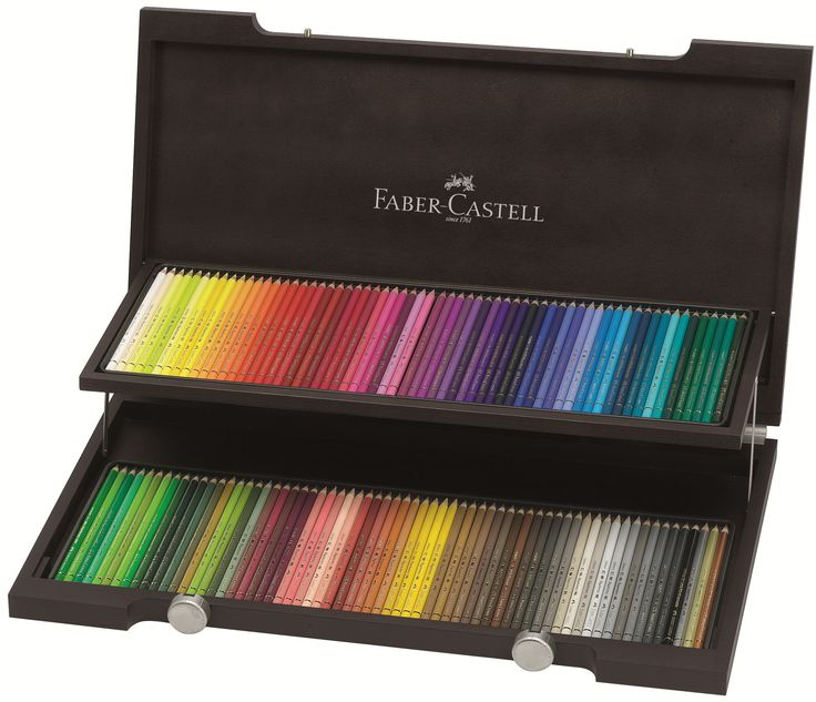 Matite colorate Polychromos - Faber-Castell.... www.faber-castell.it.... Matite Colorate Polychromos Valigetta legno 120