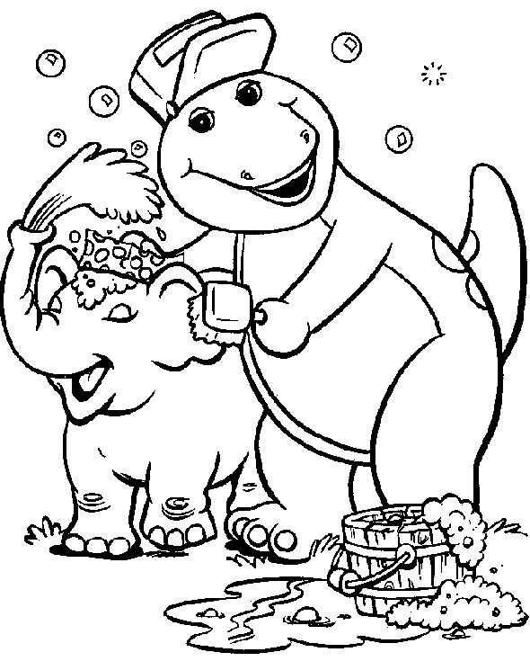 27 best special needs children images on pinterest | special needs ... - Barney Dinosaur Coloring Pages
