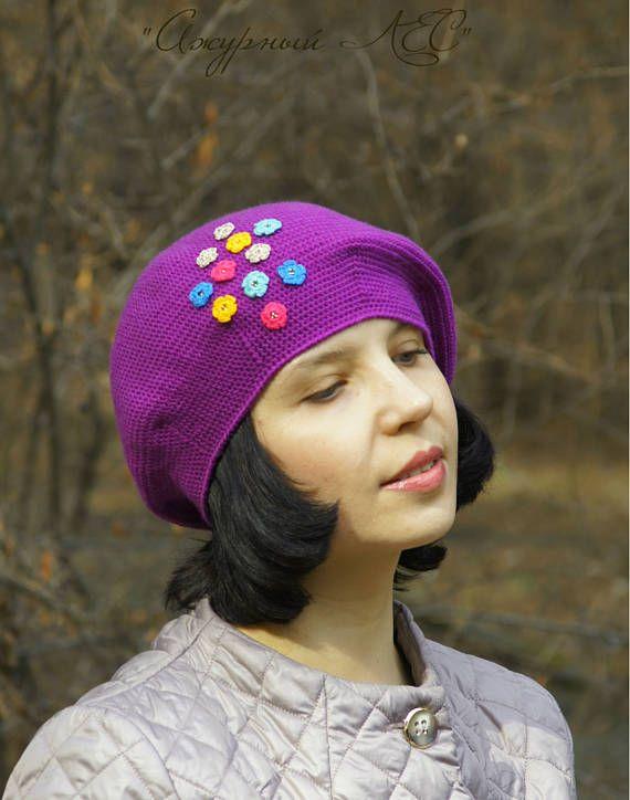 Hats For Women Knit Hat Crochet Hat Women Crochet Beret