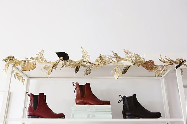 Poppy Barley - The Chelsea Boot - Modern Christmas Decor - Photo by Andrea Hanki