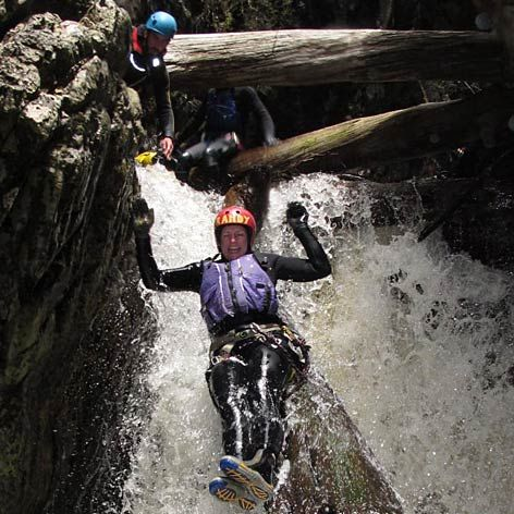 Dove Canyon experience is a canyoning trip in Tasmania. Abseiling, thrilling jumps and slides await you. Book online NOW - Gift Vouchers available.