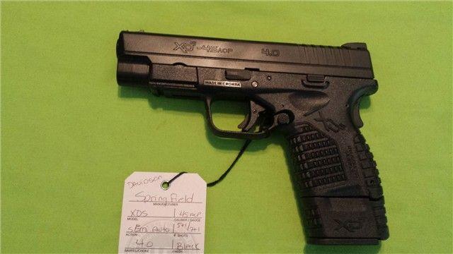 SPRINGFIELD XDS 45ACP 45 4.0 BLACK 5RD 7RD MAG - http://gunsforsalebuy.com/springfield-xds-45acp-45-4-0-black-5rd-7rd-mag.html