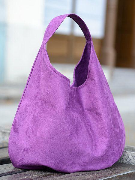 big berry  xxl shoulder hobo packable bag by bandabag on Etsy