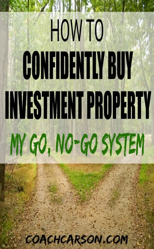 How to Confidently Buy An Investment Property