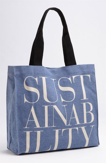 Sustainability Apple & Bee Organic Cotton Canvas Tote available at #Nordstrom