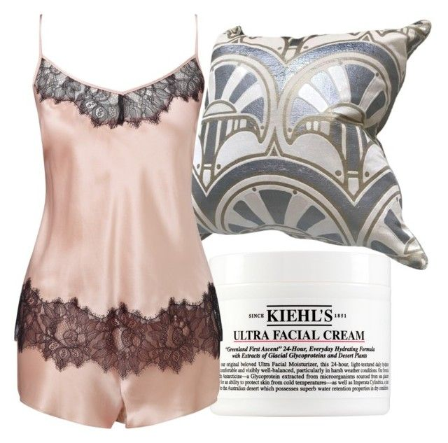 """Rebekah Inspired Sleepwear"" by fangsandfashion ❤ liked on Polyvore featuring Kiehl's and Somerset by Alice Temperley"