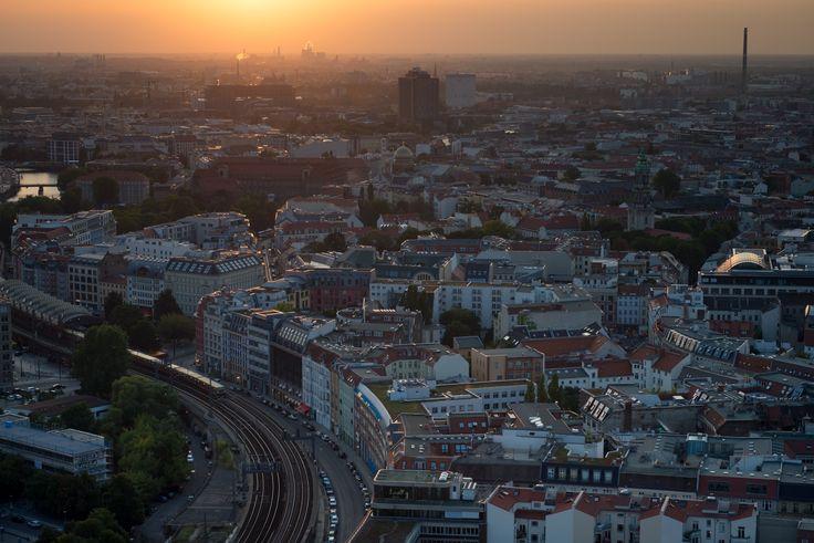 Sunset over Berlin by Oleg Gutsol on 500px