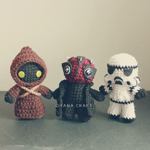 Jawa Star Wars Amigurumi : Best 25+ Star wars crochet ideas only on Pinterest ...