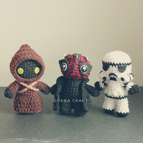 Free Crochet Star Wars Doll Patterns : 25+ best ideas about Star Wars Crochet on Pinterest All ...