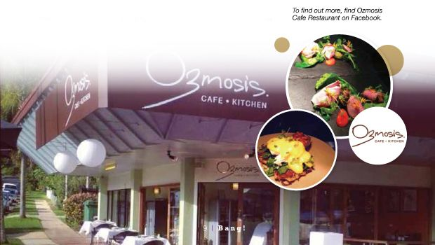 Ozmosis Cafe Kitchen. After exploring the Botanic Gardens, Tanks, and Centennial Lakes boardwalks avoid the two over-priced cafes within the grounds and follow Collins Avenue round to Ozmosis Cafe instead. Fantastic food and coffee, lots of out-door seating, high-chairs and very child-friendly.