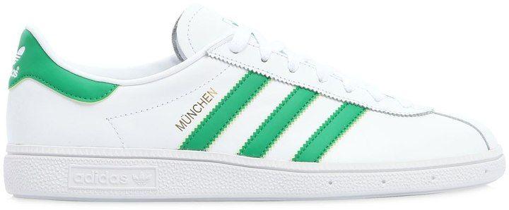 adidas München Suede Sneakers