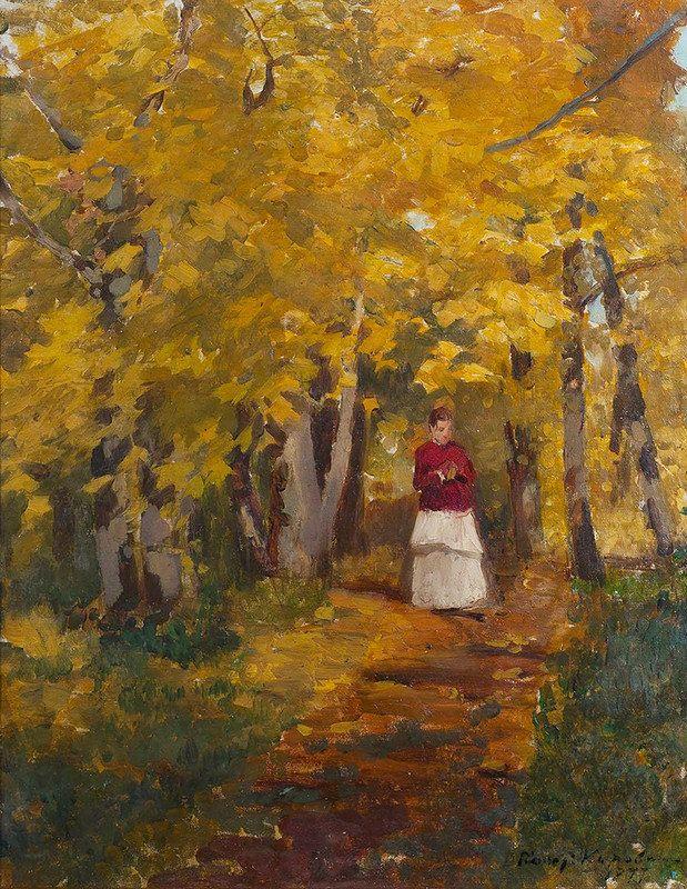 Константин Коровин - В парке