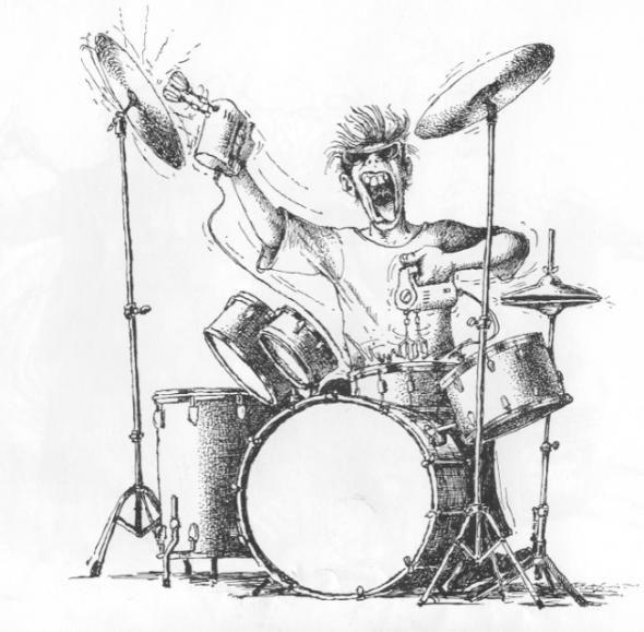 Идет, смешной барабанщик картинка