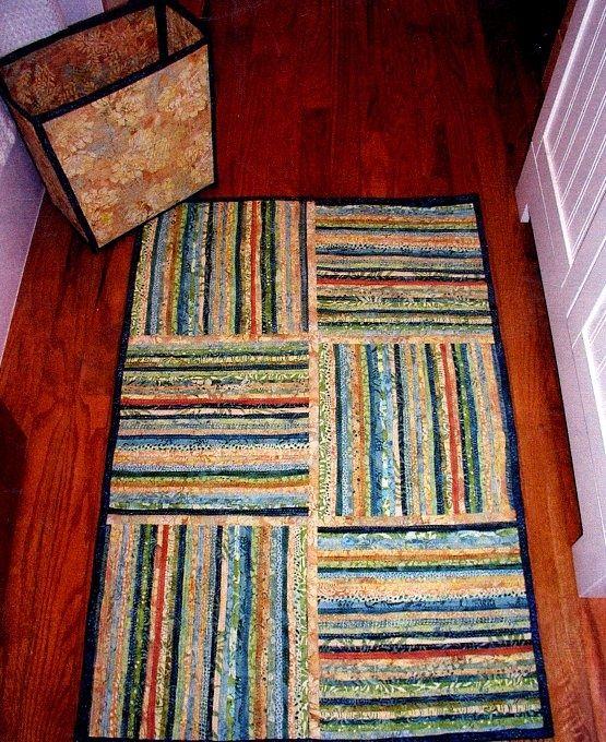 Clothesline rug