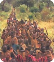 Lost Boys of the Sudan - a very brief summation of their story. (Eastern Hemisphere studies)