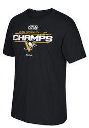 Pitt Penguins Mens Championship Tee