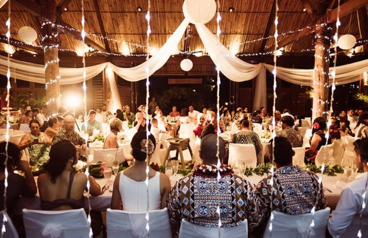 Outrigger Fiji Beach Resort Wedding Ideas Planning Inspiration Tropical Paradise Style Floral Design Planning Photography Reception lights Chapel White Magical Moments Memories Festivities Celebrations