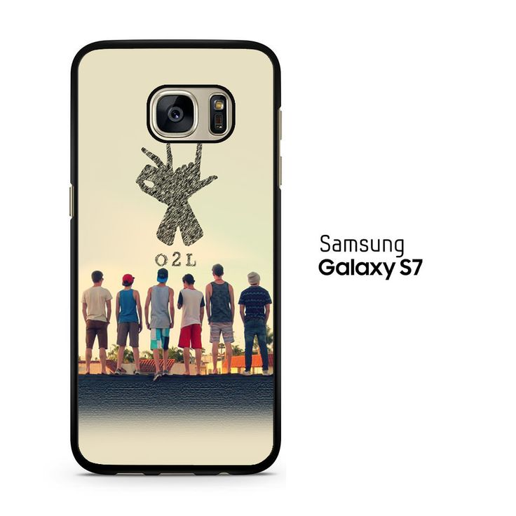 O2l Collage Hand Sign Samsung Galaxy S7 Case