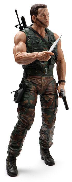 Predator 1/4 Scale Dutch Deluxe Figure