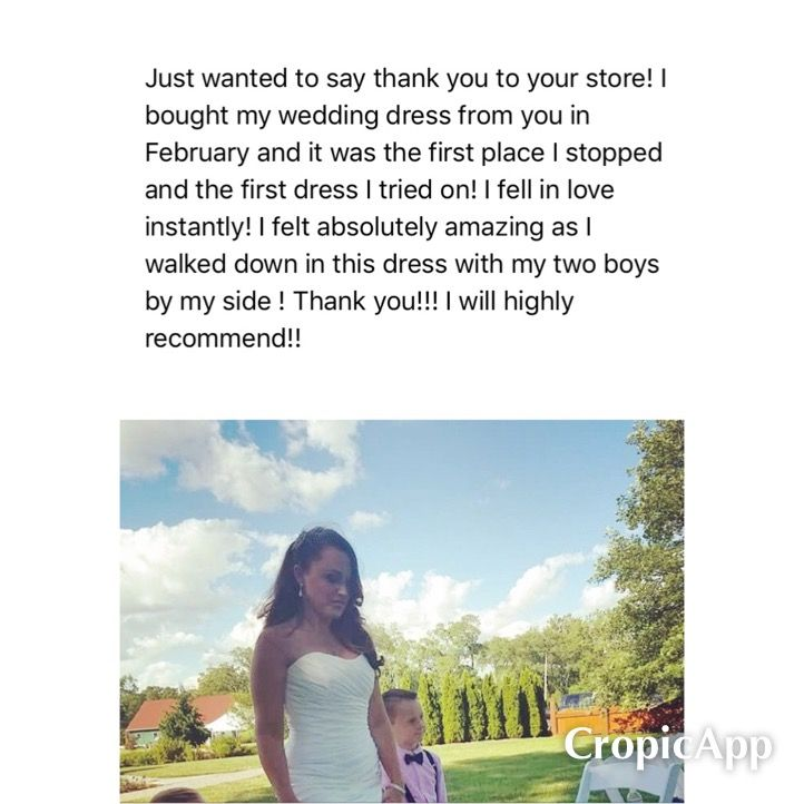 We TOTALLY Love getting pictures of our customer's special day & the AWESOME messages.  Thanks so much for shopping Designer Consigner Boutique & sharing your pictures.  Designer Consigner Boutique 6329 S. Mooresville Road Indianapolis, IN 46221 317-856-6370 317-979-9628-Text Option & appointment number