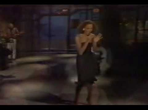 Whitney Houston - Saving all my love for you live Letterman - YouTube