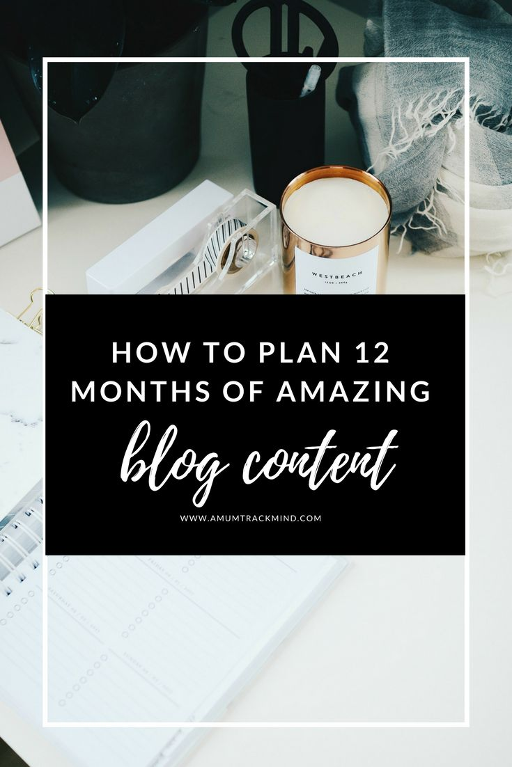 Want to have the best blogging year yet? First things first you need to get prepared and organised! Click through to plan the best 12 months of amazing blog content yet
