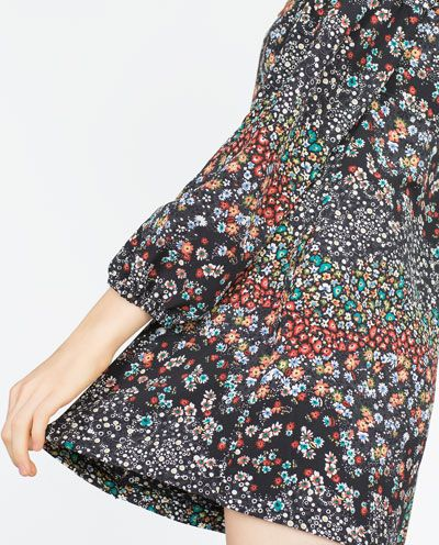 Image 5 of FLORAL JUMPSUIT from Zara