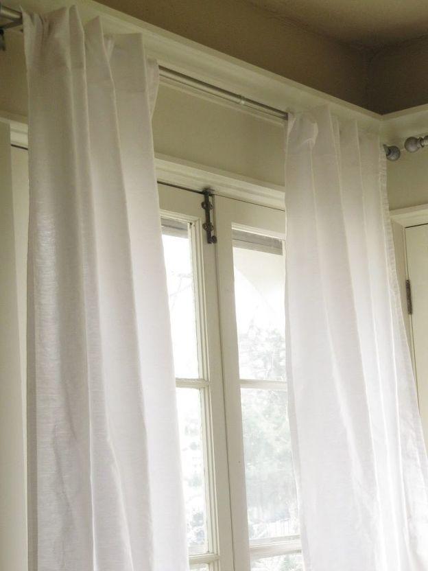 5 curtains diy home decor reupholster window treatments rh in pinterest com