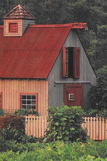 17 best ideas about barns sheds on pinterest small shed for Red barn plans