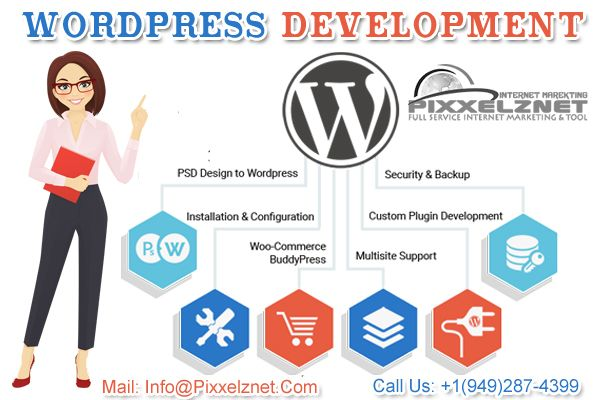 Looking for a best WordPress website development company in India? Pixxelznet is here to provide a wide range of website maintenance & consulting services.