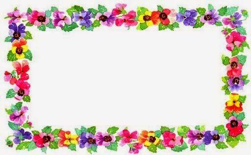 Flores: Marcos, Toppers o Etiquetas para Imprimir Gratis.